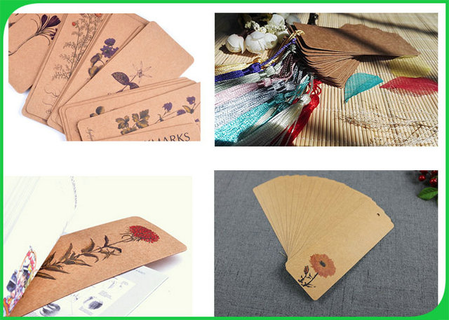 High Stiffness Brown Craft Paper Roll Water Resistant For Making DIY Bookmark